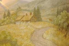 Пейзажи — Альпийская деревня