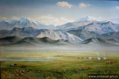 Пейзажи — Степь