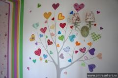 Детские комнаты — Дерево