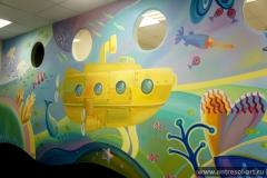 Детские комнаты — Подводный мир