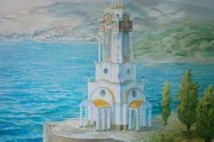 Пейзажи — Храм у моря